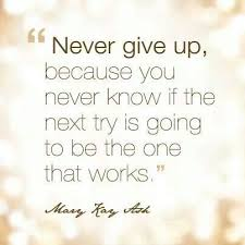 Mary Kay Quotes Amazing Some Days Are Harder Than Others Just Don't Give Up Because We Aren