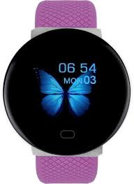 DOOLNNG 2020 <b>D19 Smart Watch women</b> Heart Rate Blood ...