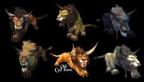 Troll Druid Color Chart Worgen Druid Cat Colors Best Cat Cute Pictures Meme