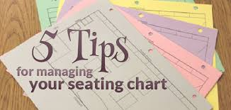 Have A Seat 5 Tips For Managing Your Seating Charts The
