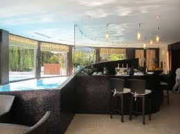 home indoor pool with bar. Hotel Metropole Monte-Carlo: Indoor Bar At Pool Home With O