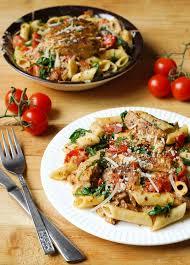 creamy en pasta with bacon what