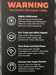 Still, when you get to caffeine levels this high, a few extra mg isn't going to make any noticeable difference. Death Wish Coffee Review World S Strongest Coffee