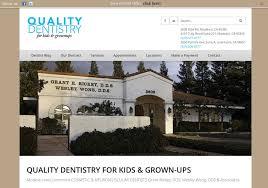 Dental Office Website Design Fascinating QualityDentists Modesto Dentist Office Hill Media Group