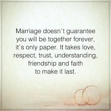 Marriage Quotes Sayings Inspiration Marriage Quotes About Life Sayings Together Forever It's Not Paper