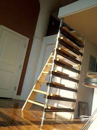 tiny house loft ladder. Amazing Of Retractable Stairs Design Collapsible Cabin Loft Folding Best Ideas About Tiny House Ladder
