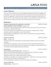 Resume Navigation Delectable Duke University Health System Navigation Specialist Resume Sample