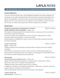 Resume Navigation Amazing Duke University Health System Navigation Specialist Resume Sample