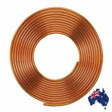 5/16 Inch <b>Diameter</b> 5m Soft Coil Copper Brass Tube Hose Air ...