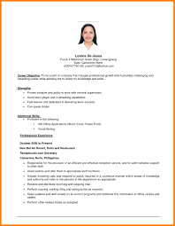 Resume Examples No Experience Simple Job Resumes Examples Sephora Resume Example No Experience 46