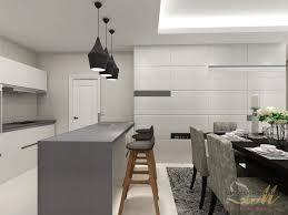open plan kitchen design for condominium in cheras project by qm design condo designs44 kitchen