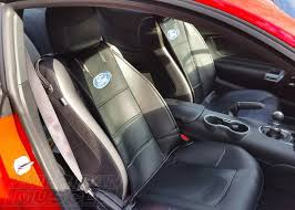 2016 2017 mustang with stock seats and sideless seat covers