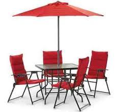 dining set umbrella garden furniture
