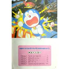 Sách - Doraemon Tranh Truyện Màu - Nobita Và Chuyến Tàu Tốc Hành Ngân Hà -  Tập 1 (Tái Bản 2019) giá cạnh tranh