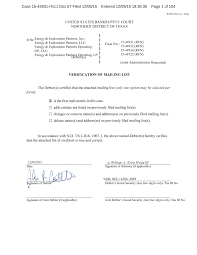 Case 15-44931-rfn11 Doc 57 Filed 12/09/15 Entered 12/09/15 19:35:30 Page 1  of 104