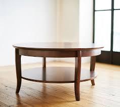chloe round coffee table pottery barn