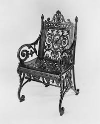 this is a beautiful garden armchair garden furniture became important cast iron garden furniture with decorative scroll and foliage appeared in formal