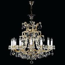 maria theresa chandelier 13 light crystal chandeliers