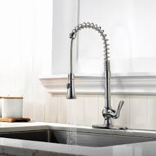 Heavy Industrial Kitchen Faucet Sprayer — Railing Stairs And