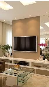 incredible tv wall idea 40 t v decor decoholic 14 ikea houzz with fireplace design bedroom modern uk wood