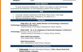 Resume Ms Resume Templates Resumes