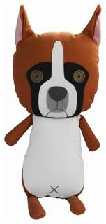 German Boxer Creative Handmade Doll Toy <b>High Quality Canvas</b> ...