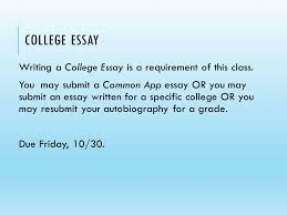 college essay writing a college essay is a requirement of this  college essay writing a college essay is a requirement of this class