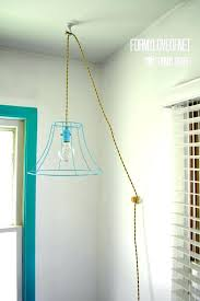 ceiling light cord incredible ideas how to hang a pendant light with cord stylish wire lamp