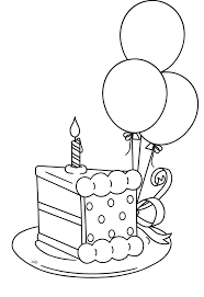Small Picture Slice The Cake That Will Be Packed Birthday Coloring Pages digi