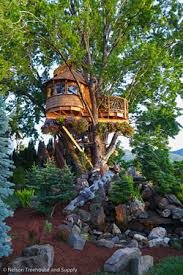Beautiful Treehouse Masters Tree Houses Chelan E Inside Design