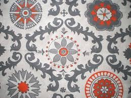 new orange gray beige geometric full duvet cover reversible linen textured and shower curtain