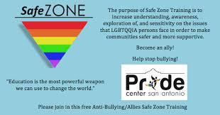 Gay ally sensitivity training