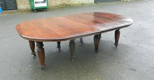 most unusual and large century solid rosewood campaign dining table antique indian coffee tables uk