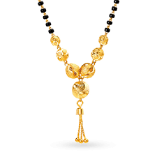 Ganthan Design In Gold Buy Gold Mangalsutra Online Latest Mangalsutra Designs At