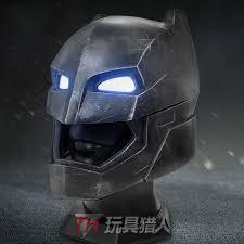 bretoys 1 1 superman vs batman batman helmet reload version for