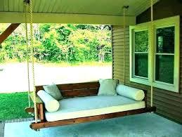 outdoor porch bed swing australia hanging patio umbrellas costco