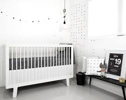 more than  ideas for the coolest black and white nursery  cool