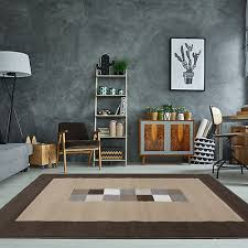 chocolate brown neutral rug small large geometric living room rugs black friday
