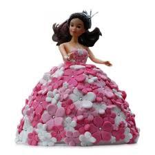 Cakes Designer Doll Cake Blue Heaven