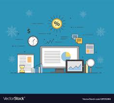 Business And Finance Digital Technologies Charts
