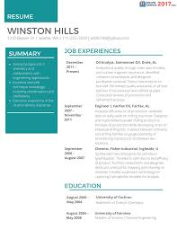 Resumes For 2017 Resume Samples 24 Resume And Cover Letter Resume And Cover Letter 19