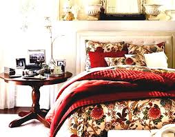 easy vintage bedroom designs bedding ideas styles you may imitate at home lovely masterbed with red accessory for desaign and circle wooden table accessorieslovely images ideas bedroom