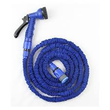 expandable garden hoses. Picture Of Xhose Expandable Garden Hose - 75Ft Blue Hoses