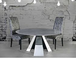 ivan round marble dining table