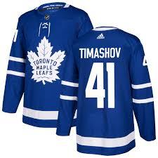 Men's Dmytro Timashov Toronto Maple Leafs Authentic Blue Jersey