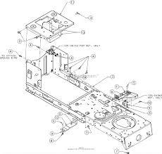 Mtd m115 38 13ac77lf058 2017 parts diagram for frame rh jackssmallengines