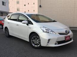 2015 TOYOTA PRIUS ALPHA S TUNE BLACK | Used Car for Sale at ...