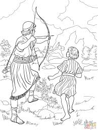 Christian Coloring Pages David And Goliath Printable Coloring Page
