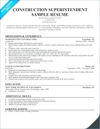 Example Of Construction Resume Construction Resume Samples Airexpresscarrier Com