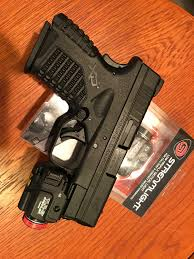 Tactical Light For Xd 40 Subcompact Tlr 7 And Tlr 8 Now Part Of Our Low Light Kit Team One Network